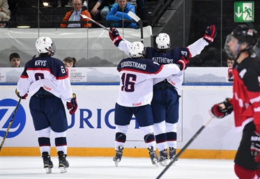 USA heading to gold medal game